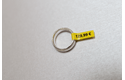 Originele Brother TZe-FX611 flexibele ID label tapecassette – zwart op geel, breedte 6 mm 4