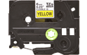 Genuine Brother TZe-FX611 Labelling Tape Cassette – Black on Yellow Flexible-ID, 6mm wide 2