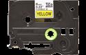 Brother TZeFX611 original etikettape, svart på gul, 6 mm  2