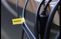 Originele Brother TZe-FX621 flexibele ID label tapecassette – zwart op geel, breedte 9 mm 4