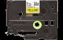 Cassette à ruban pour étiqueteuse TZe-FX621 Brother originale – Noir sur jaune, 9mm de large 2