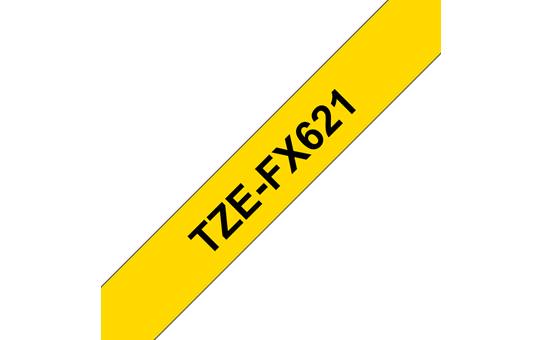 Originalna Brother TZe-FX621 kaseta s prilagodljivim ID-trakom za označevanje