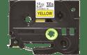 Brother TZeFX631 original etikettape, svart på gul, 12 mm 2