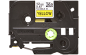 Genuine Brother TZe-FX631 Labelling Tape Cassette – Black on Yellow, 12mm wide 2