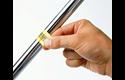 Oryginalna taśma identyfikacyjna Flexi ID TZe-FX641 firmy Brother – czarny nadruk na żółtym tle, 18mm szerokości 4
