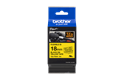 Genuine Brother TZe-FX641 Labelling Tape Cassette – Black on Yellow, 18mm wide 2