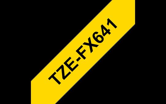 TZe-FX641 ruban d'étiquettes flexibles 18mm