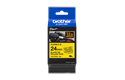 Genuine Brother TZe-FX651 Flexible ID Tape – Black on Yellow, 24mm wide 2