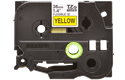 Genuine Brother TZe-FX661 Labelling Tape Cassette – Black on Yellow Flexible-ID, 36mm wide 2