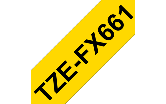 TZe-FX661 ruban d'étiquettes flexibles 36mm