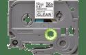Cassette à ruban pour étiqueteuse TZe-M31 Brother originale – Noir sur transparent mat, 12mm de large 2