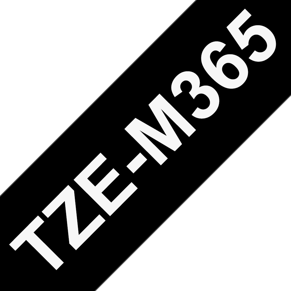 Fita laminada mate TZeM365 Brother
