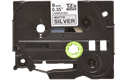Originele Brother TZe-M921 label tapecassette – zwart op mat zilver, breedte 9 mm 2