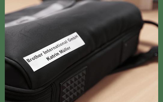 Genuine Brother TZe-M951 Labelling Tape Cassette – Black on Matt Silver, 24mm wide 4