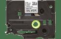Brother TZe-M951 original P-touch etikettape- svart på silvermetallisk matt tape, 24 mm bred