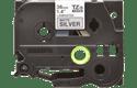 Genuine Brother TZe-M961 Labelling Tape Cassette – Black on Matt Silver, 36mm wide 2