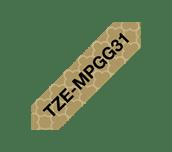 Fita laminada mate TZeMPGG31 Brother