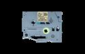 Cassette à ruban pour étiqueteuse TZe-MPGG31 Brother originale – Noir sur motifs or, 12mm de large 2