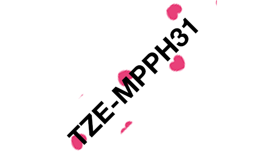 Cinta laminada mate TZeMPPH31 Brother