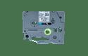 Brother TZe-MPSL31 Schriftband – schwarz auf silber Spitze 3
