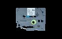 Brother TZe-MQ531 Nastro originale – laminato, nero su blu pastello, 12 mm di larghezza