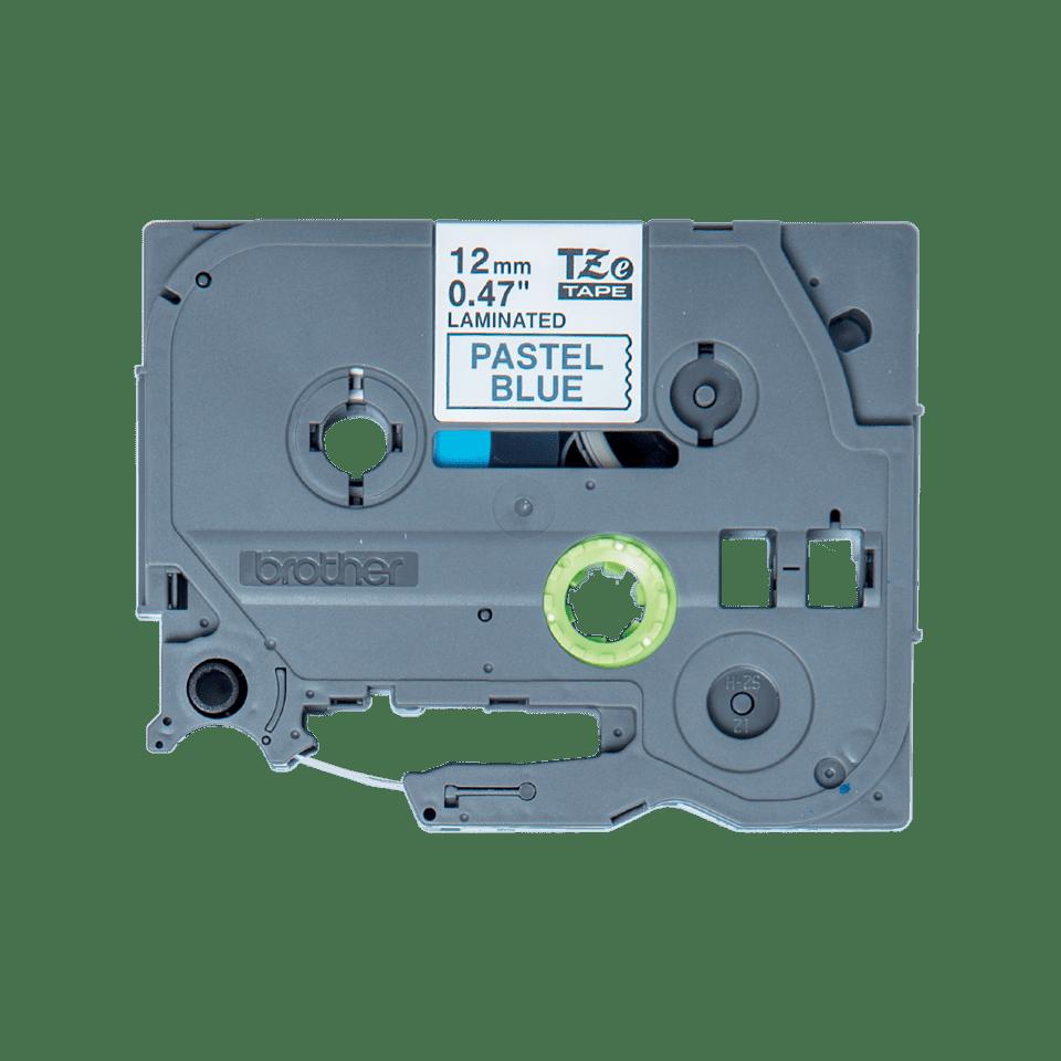 Original Brother TZe-MQ531 tape – sort på pastelblå, 12 mm bred 2
