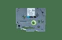 Original TZe-MQ531 Schriftbandkassette von Brother – Schwarz auf Pastellblau, 12mm breit 2