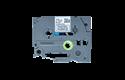 Brother TZe-MQF31 Nastro originale - laminato, nero su fondo lilla pastello, 12 mm di larghezza