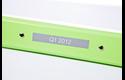 Originele Brother TZe-MQL35 labeltape – wit op grijs, breedte 12 mm 4