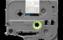Eredeti Brother TZe-MQL35 szalag– Szürke alapon fehér, 12mm széles 2