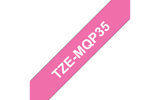 TZe-MQP35 ruban d'étiquettes 12mm