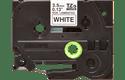 Brother TZe-N201 - черен текст на бяла неламинирана лента, 3,5mm 2