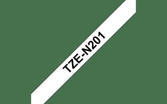TZe-N201 niet-gelamineerde labeltape 3,5mm