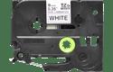 Originele Brother TZe-N221 label tapecassette – zwart op wit, breedte 9 mm 2