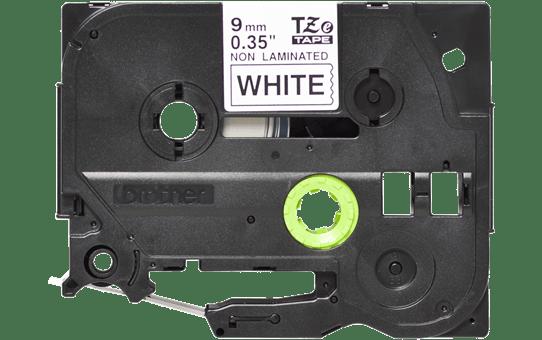 Original Brother TZeN221 tape – sort på hvid, 9 mm bred 2