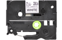 Genuine Brother TZe-N221 Labelling Tape Cassette – Black on White, 9mm wide 2