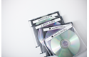 TZe-N231 niet-gelamineerde labeltape 12mm 4