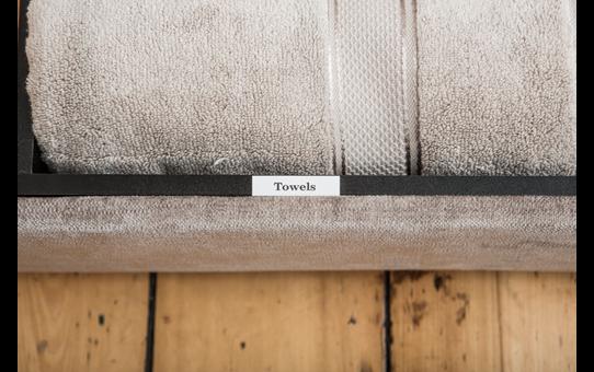 Brother TZe-N241 Schriftband – schwarz auf weiß