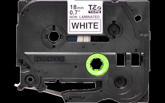 Brother TZe-N241 Schriftband – schwarz auf weiß 3