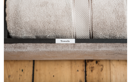 Genuine Brother TZe-N241 Labelling Tape Cassette – Black on White, 18mm wide 4