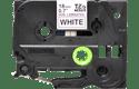 Cassette à ruban pour étiqueteuse TZe-N241 Brother originale – Noir sur blanc, 18mm de large 2