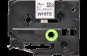Cassetta nastro per etichettatura originale Brother TZe-N241 – Nero su bianco, 18 mm di larghezza