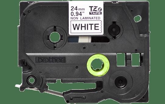 Original TZe-N251 Schriftbandkassette von Brother – Schwarz auf Weiß, 24mm breit 2