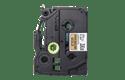 Cassette à ruban d'étiquette TZe-PR851 Brother originale – noir sur or premium, 24 mm de large 2