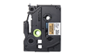 Genuine Brother TZe-PR851 Labelling Tape Cassette – Black On Premium Gold, 24mm wide 2