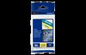 Originele Brother TZe-PR935 label tapecassette - wit op premium zilver, breedte 12 mm 3