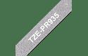 Original Brother TZe-PR935 Schriftbandkassette – Weiss auf Premiumsilber, 12 mm breit