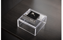 Brother original TZe-PR955 etikettape – Vit på glittrande silver, 24 mm bred 4