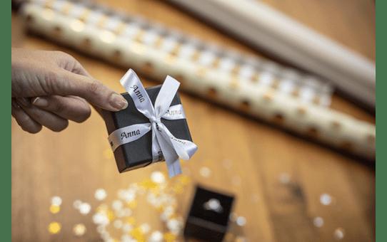 Genuine Brother TZe-R231 Ribbon Tape Cassette – Black on White, 12mm wide 3