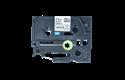 Oriģināla Brother TZe-R231 lentas kasete – melnas drukas, balta, 12mm plata